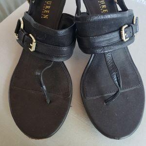 Strappy sandle heels